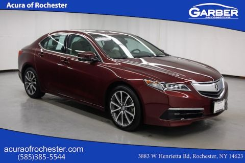 Certified Pre-Owned 2016 Acura TLX BASE