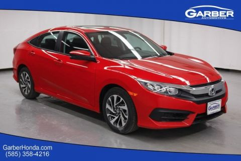 New 2017 Honda Civic EX FWD 4D Sedan