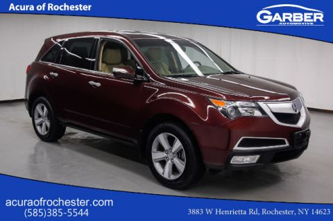 Pre-Owned 2012 Acura MDX Tech Pkg AWD