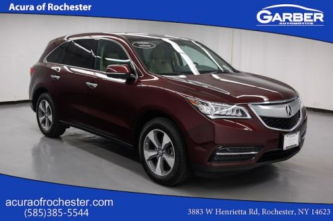 Certified Pre-Owned 2016 Acura MDX BASE AWD