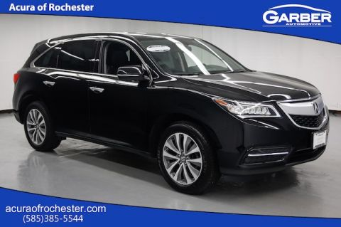 Certified Pre-Owned 2015 Acura MDX SH-AWD 3.5L Technology Package AWD