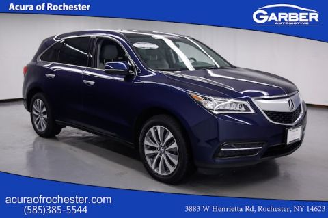 Certified Pre-Owned 2015 Acura MDX 3.5L Technology Package AWD