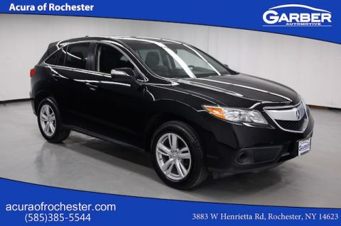 Certified Pre-Owned 2015 Acura RDX bASE AWD