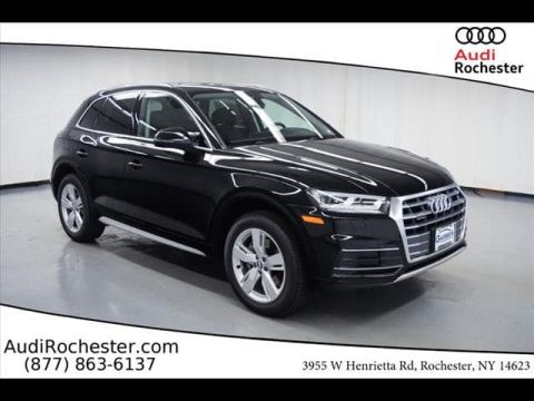 New 2018 Audi Q5 2.0T Tech Premium With Navigation