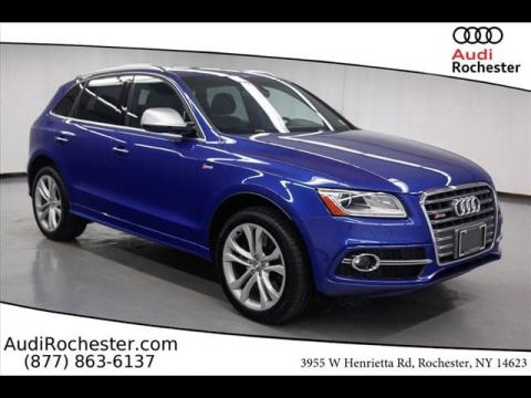 Certified Pre-Owned 2017 Audi SQ5 3.0T Premium Plus