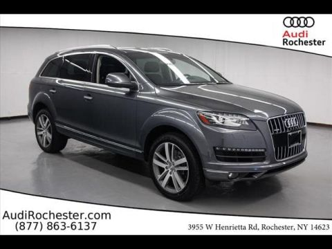 Certified Pre-Owned 2015 Audi Q7 3.0T Premium (Tiptronic)