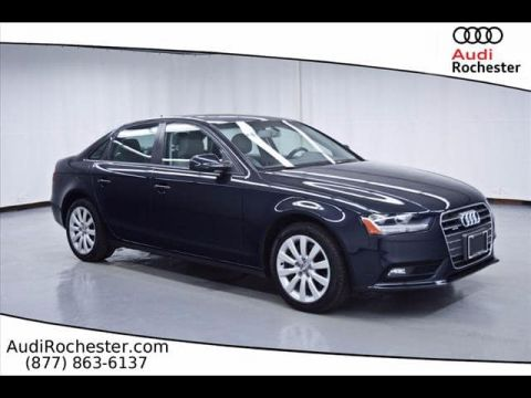 Pre-Owned 2014 Audi A4 2.0T Premium quattro Sedan
