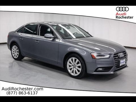 Pre-Owned 2013 Audi A4 2.0T Quattro Premium All Wheel Drive Sedan
