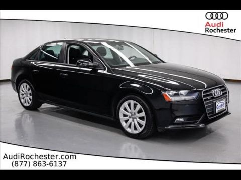 Certified Pre-Owned 2014 Audi A4 2.0T Premium quattro Sedan