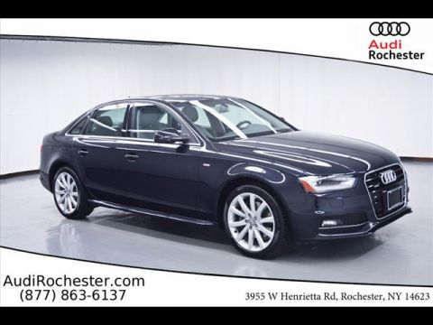 Certified Pre-Owned 2014 Audi A4 2.0T quattro Sedan