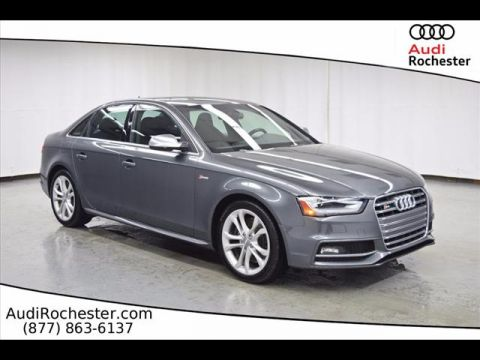 Certified Pre-Owned 2015 Audi S4 3.0T Quattro Premium Plus quattro Sedan