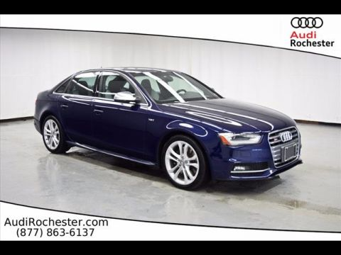 Certified Pre-Owned 2014 Audi S4 3.0T Quattro Premium Plus quattro Sedan