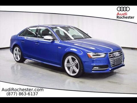 Pre-Owned 2016 Audi S4 3.0T Quattro Premium Plus quattro Sedan
