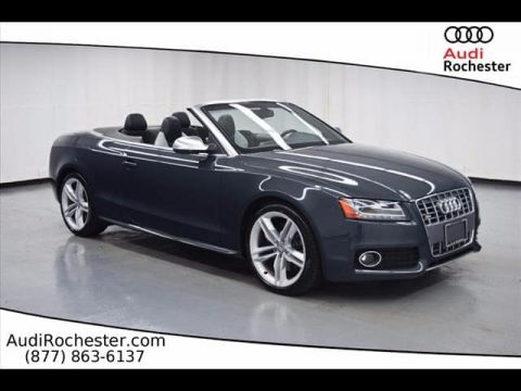 Pre-Owned 2011 Audi S5 3.0T Quattro Premium Plus All-wheel Drive Cabriolet