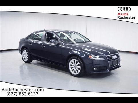 Pre-Owned 2012 Audi A4 2.0T Quattro Premium All-wheel Drive Sedan