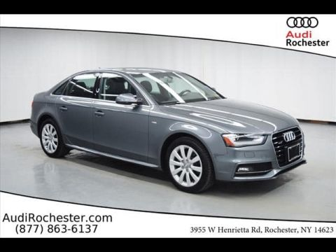 Certified Pre-Owned 2015 Audi A4 2.0T Premium