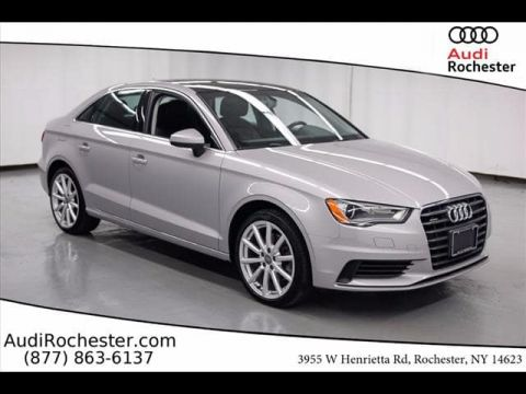 Certified Pre-Owned 2015 Audi A3 2.0T quattro Sedan