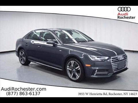 Pre-Owned 2018 Audi A4 2.0T quattro Sedan