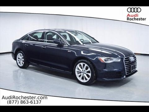 Certified Pre-Owned 2017 Audi A6 3.0T Quattro Premium Plus quattro Sedan