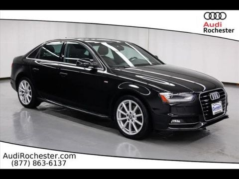 Certified Pre-Owned 2015 Audi A4 2.0T Quattro Premium Plus quattro Sedan