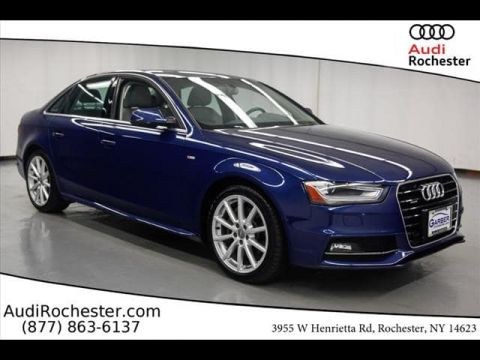 Certified Pre-Owned 2016 Audi A4 2.0T Premium (Tiptronic)