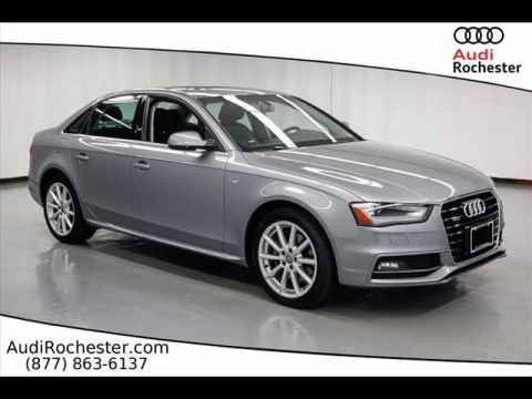 Certified Pre-Owned 2015 Audi A4 2.0T quattro Sedan