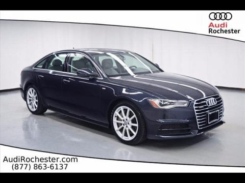 Certified Pre-Owned 2017 Audi A6 2.0T Quattro Premium Plus quattro Sedan