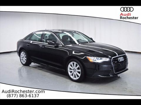 Pre-Owned 2014 Audi A6 2.0T Quattro Premium Plus quattro Sedan