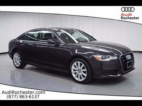 Certified Pre-Owned 2015 Audi A6 2.0T Quattro Premium Plus quattro Sedan