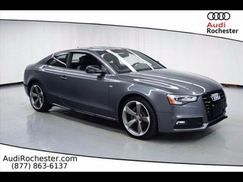 Certified Pre-Owned 2015 Audi A5 2.0T Quattro Premium Plus quattro Coupe