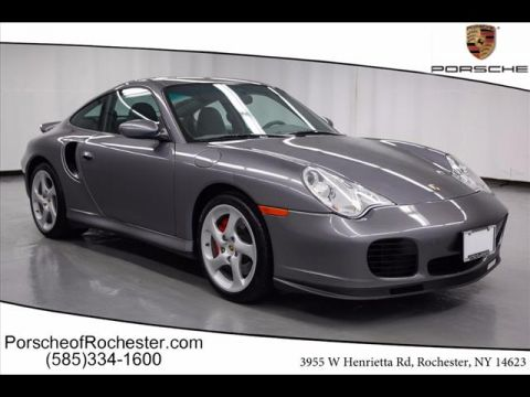Pre-Owned 2002 Porsche 911 Turbo AWD