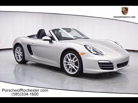 Pre-Owned 2013 Porsche Boxster Base RWD 2dr Convertible
