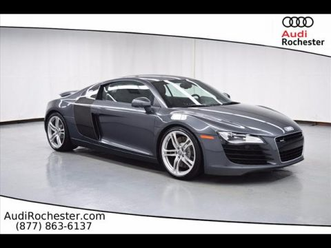 Pre-Owned 2010 Audi R8 4.2 Quattro All-wheel Drive Coupe