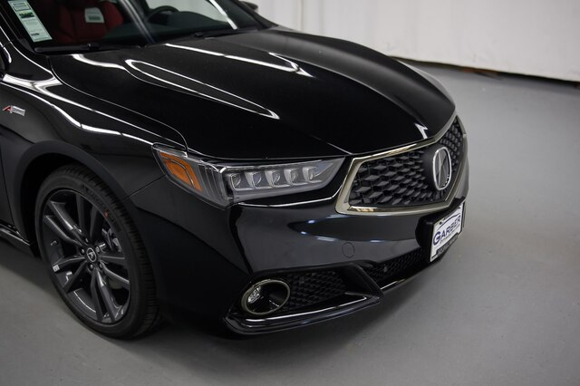 New 2019 Acura TLX 3.5L Tech & A-Spec Pkgs w/Red Leather