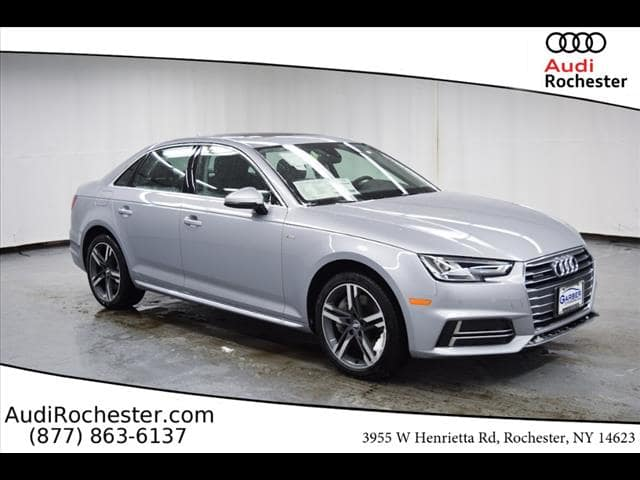 New 2018 Audi A4 2.0T Premium Sedan in Rochester #JA086946 | Garber