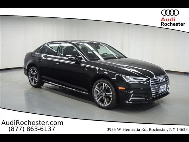 New Audi A T Tech Premium Sedan In Rochester JA - Audi a4 2018