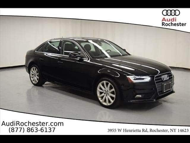 Pre-Owned 2013 Audi A4 2.0T Quattro Premium Plus Sedan
