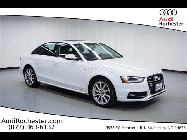 Certified Pre-Owned 2015 Audi A4 2.0T Premium (Tiptronic)