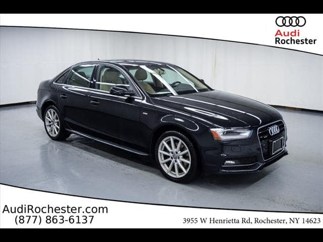 Pre-Owned 2014 Audi A4 2.0T Quattro Premium Plus