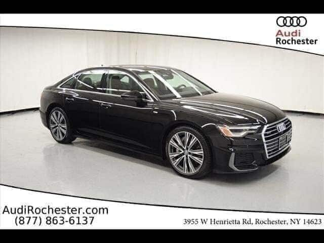 Certified Pre-Owned 2019 Audi A6 55 Premium quattro Sedan
