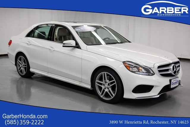 Pre-Owned 2014 Mercedes-Benz E-Class E350 4MATIC® 4D Sedan