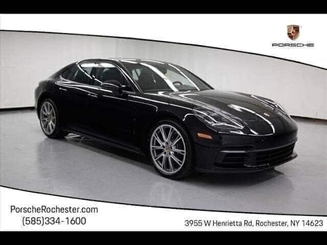 New 2019 Porsche Panamera 4 With Navigation & AWD
