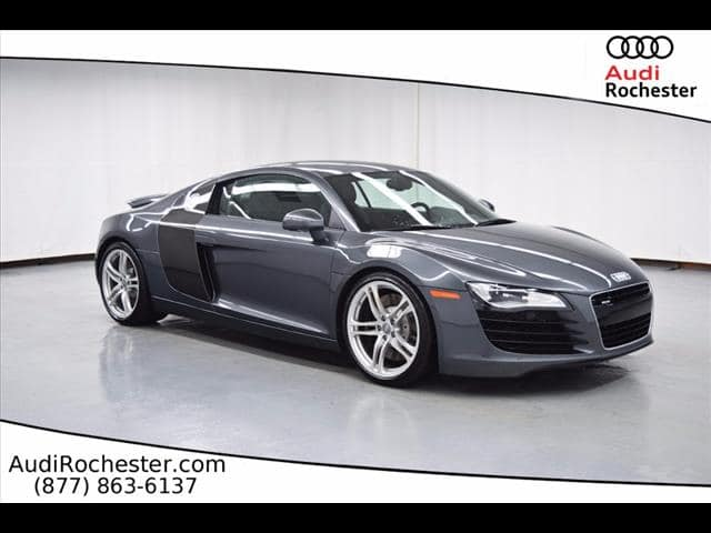Pre-Owned 2010 Audi R8 4.2 All-wheel Drive Coupe