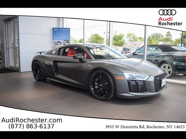 New 2018 Audi R8 52 V10 Plus Coupe In Rochester J7900694 Garber