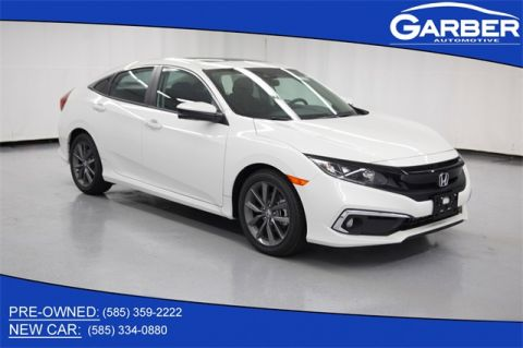 New 2020 Honda Civic EX FWD 4D Sedan