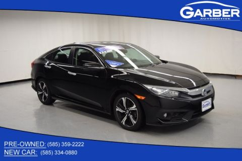 Pre-Owned 2017 Honda Civic Touring With Navigation