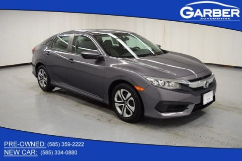 Certified Pre-Owned 2018 Honda Civic LX FWD 4D Sedan