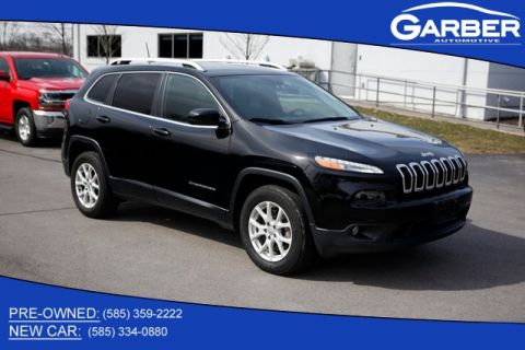 Pre-Owned 2018 Jeep Cherokee Latitude Plus 4WD
