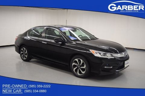 Pre-Owned 2017 Honda Accord EX-L FWD 4D Sedan