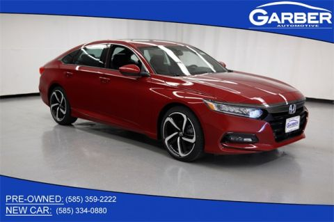 New 2020 Honda Accord Sport 2.0T FWD 4D Sedan